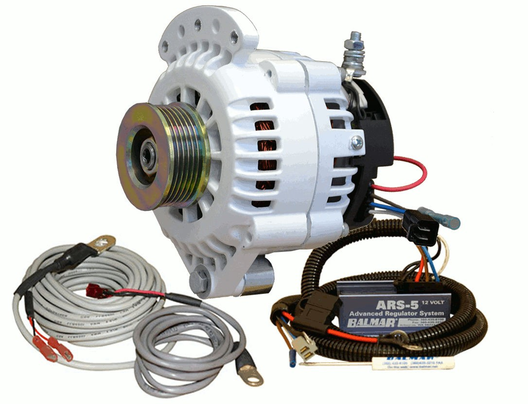 Alternatore con smart regulator