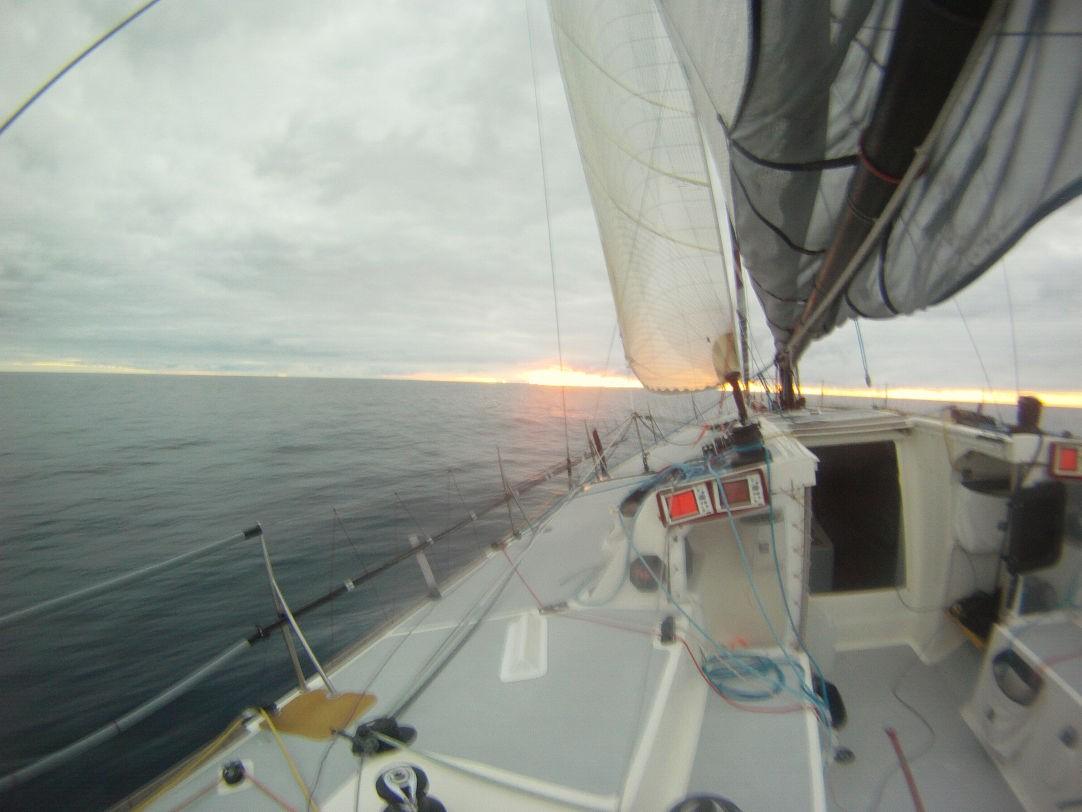 Navigazione con Code 0 in vento leggerissimo