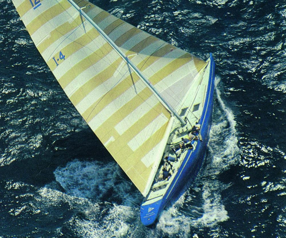 Azzurra - La barca della sfida italiana all'America's Cup