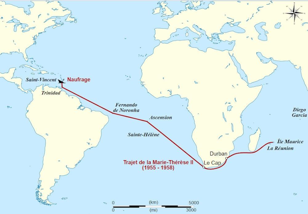 Bernard Moitessier - Il viaggio e il naufragio di Marie Therese II