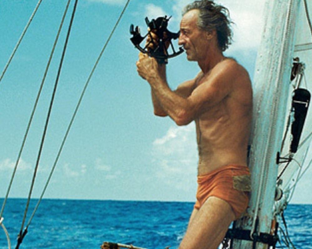 Bernard Moitessier - In navigazione