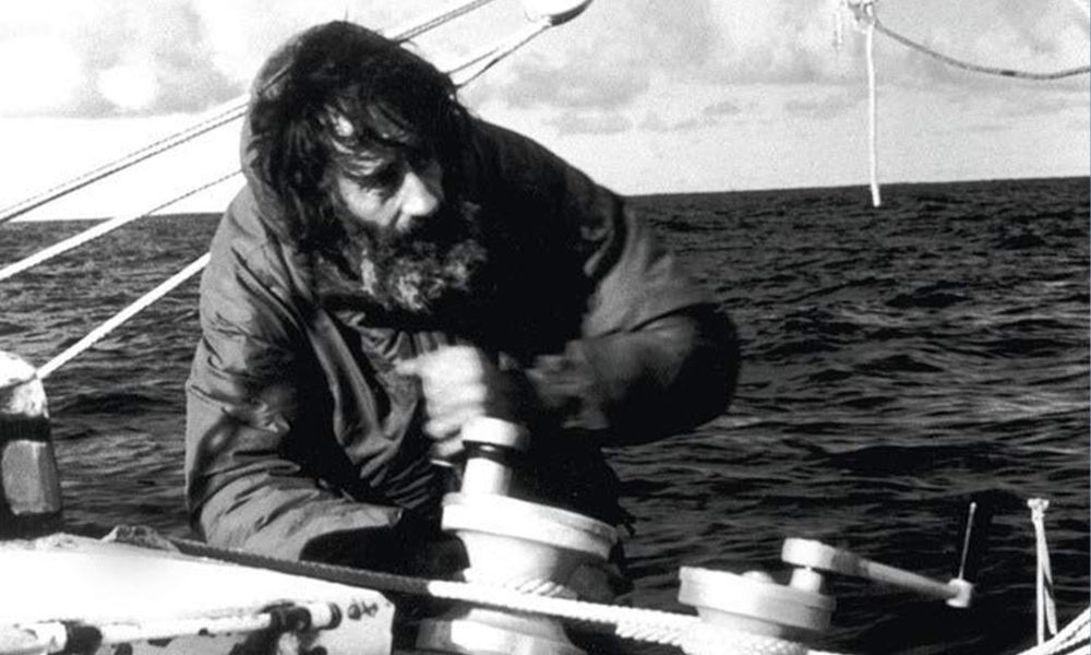 Bernard Moitessier - Nel suo elemento