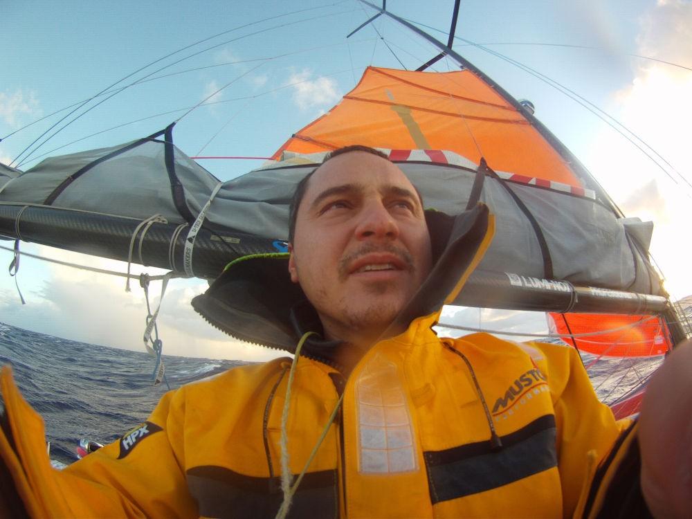 Regate - Global Ocean Race - Tempesta prima di capo Horn