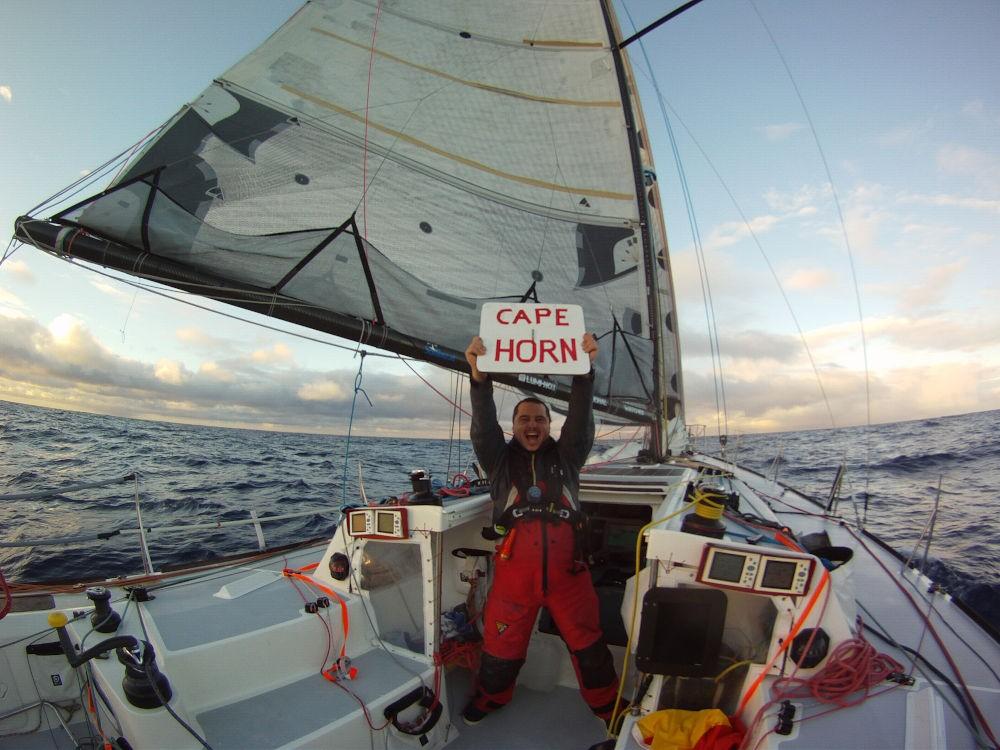Regate - Global Ocean Race - I festeggiamenti a Capo Horn