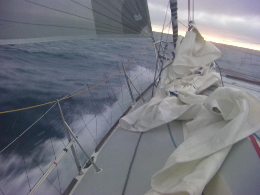 Capo Horn - Passiamo in testa alla regata