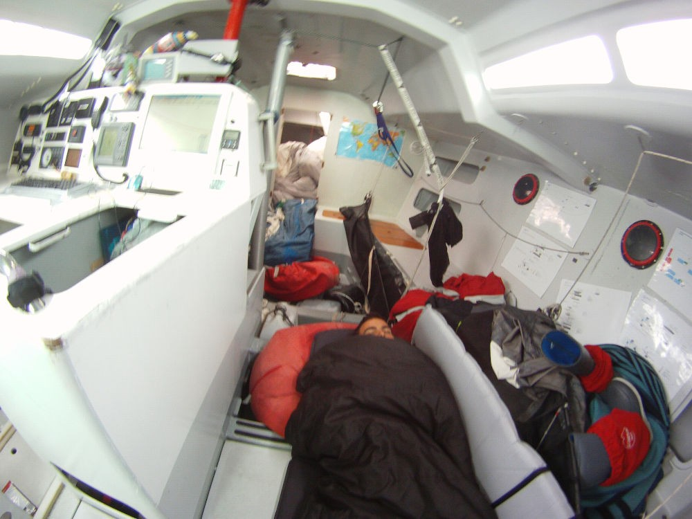 Turno di riposo per Hugo Ramon alla Global Ocean Race