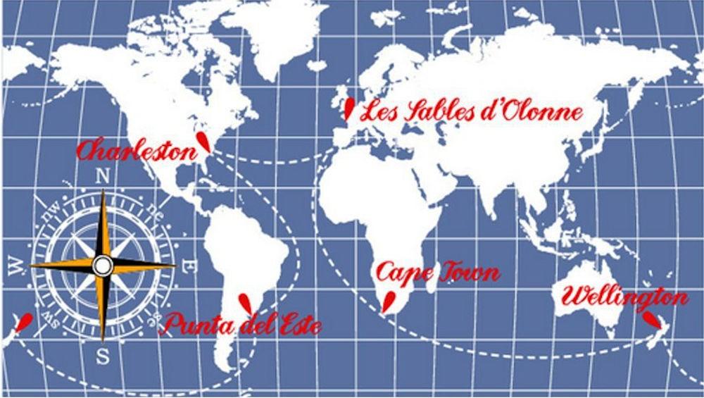 Global Ocean Race - Percorso