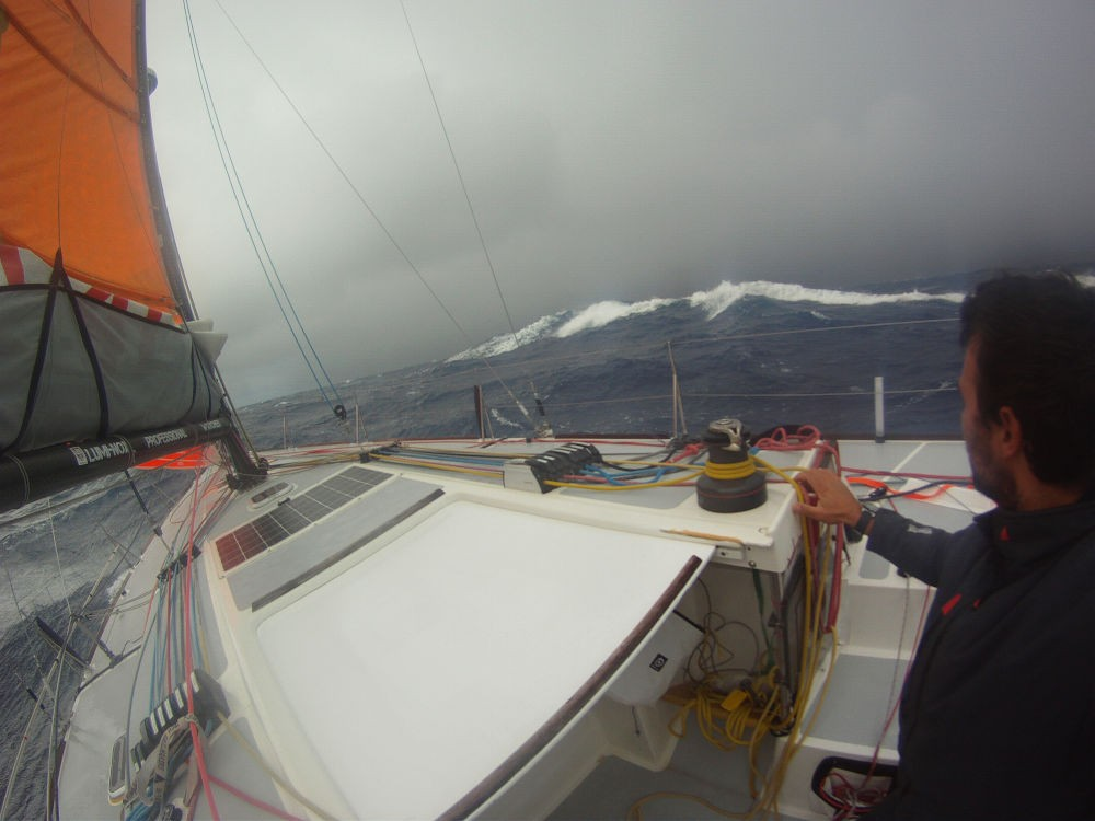Oceano Pacifico e Pacifico - La tempesta