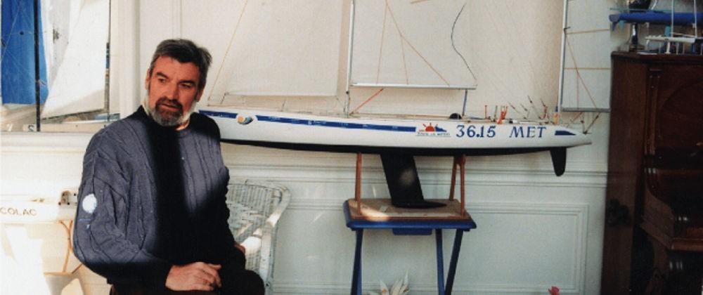 Van Den Heede - Con il modello in scala di 36.15