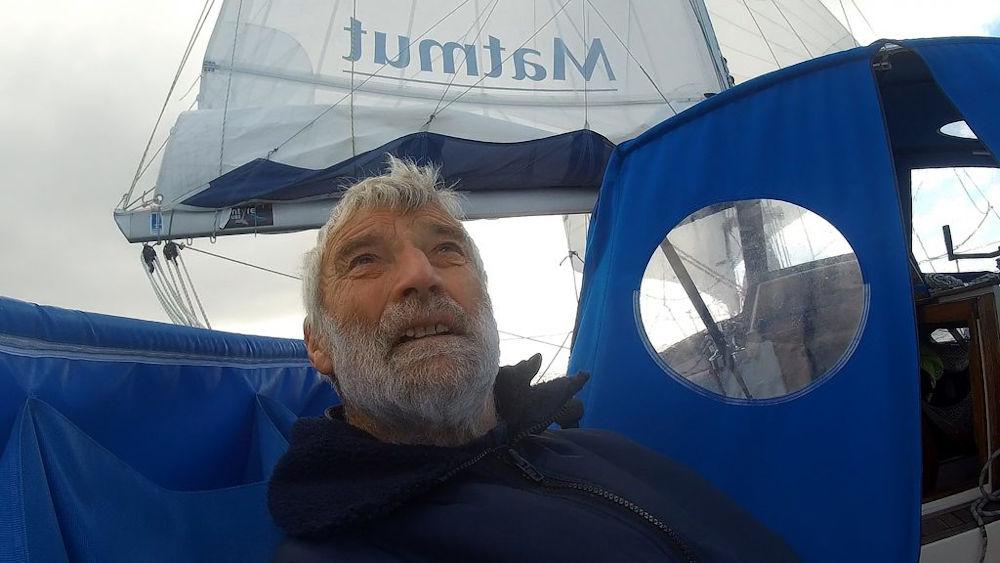 Van Den Heede - Durante la Golden Globe Race