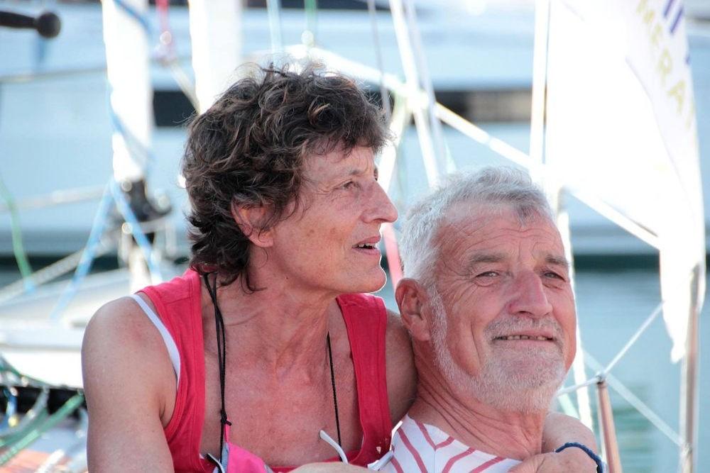Van Den Heede con sua moglie