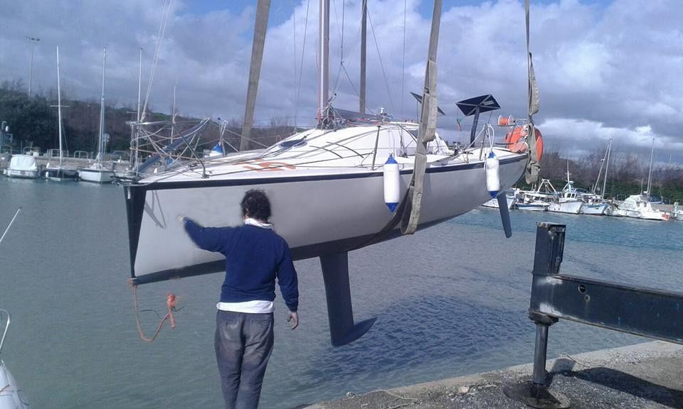 Fare carena alla barca - Il Momento dell'alaggio