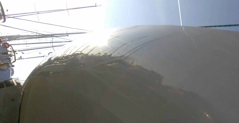 Fare carena alla barca - La lucidatura riporta la barca a nuovo