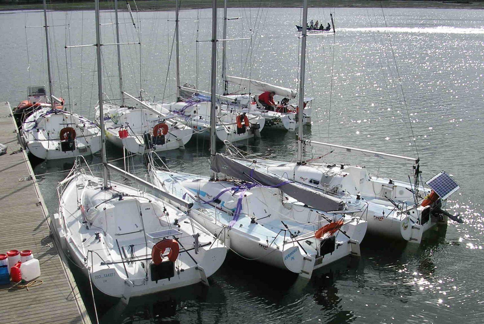 Lavori in barca - Pogo 2 con barre in carbononio