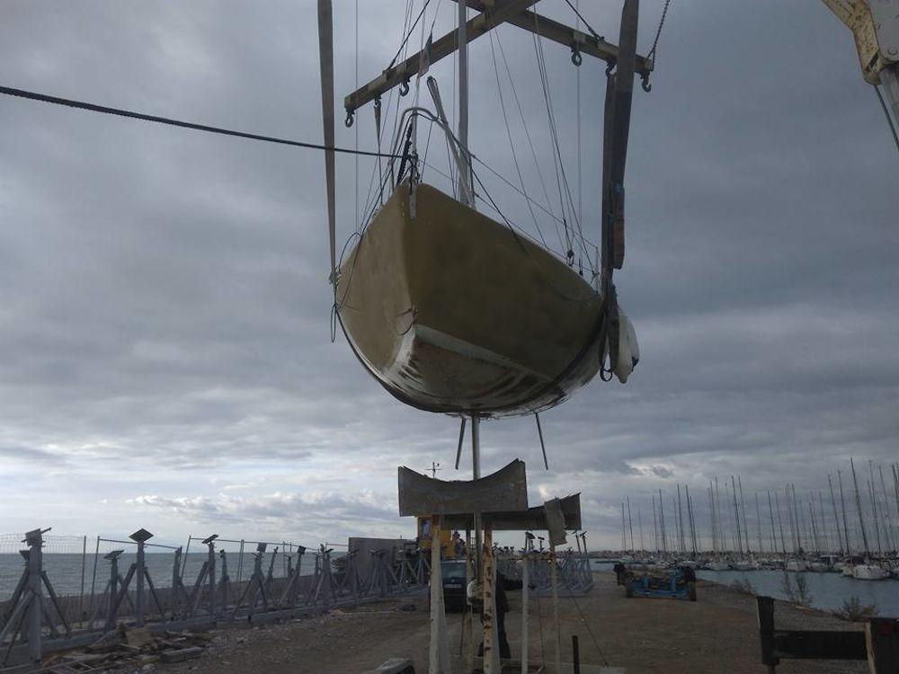 Fare carena alla barca - Se l'invaso è quello della barca non abbiamo bisogno di spessori