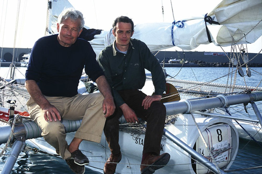 Franco Malingri sulla sinistra