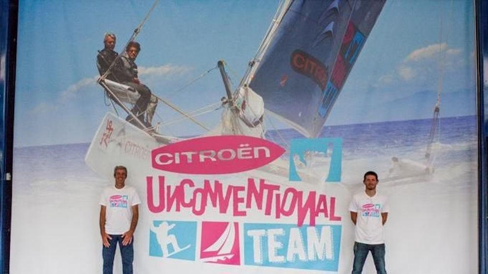 Navigatori italiani - Nico e Vittorio Malingri - Campagna Citroen Unconventional Team