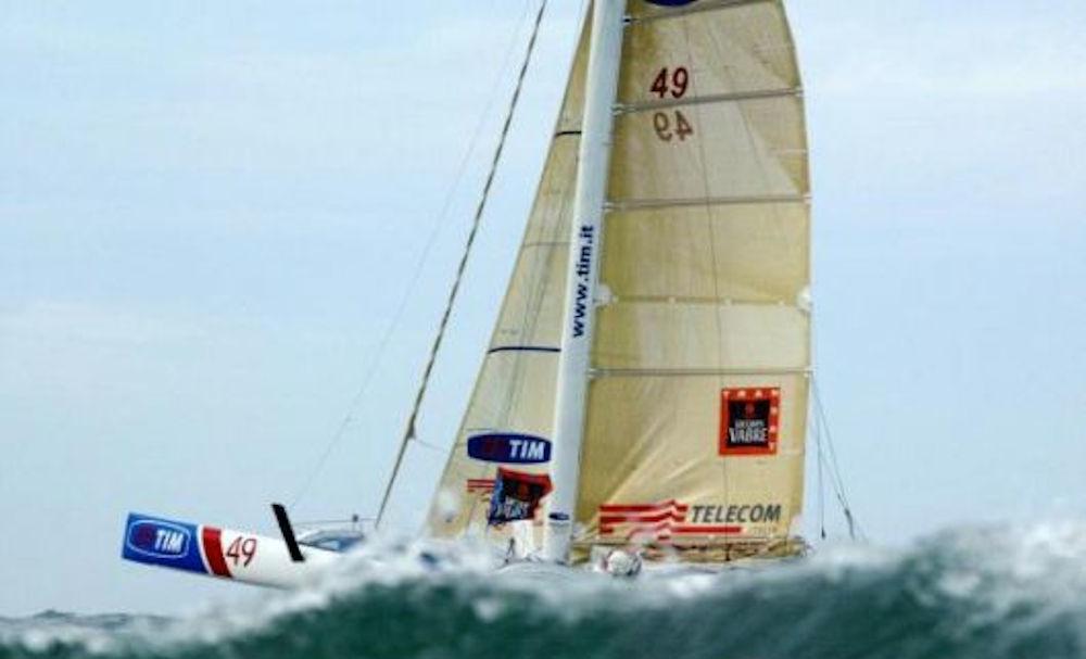 Navigatori italiani - Trimarano Tim Progetto Italia - Transat Jacques Vabre
