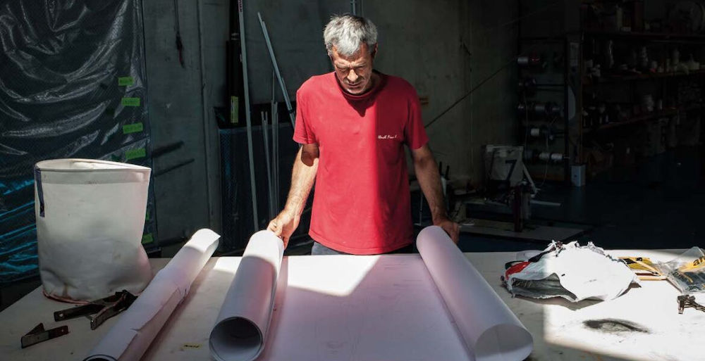 Navigatori italiani - Vittorio Maligri presso il Moana Shipyard