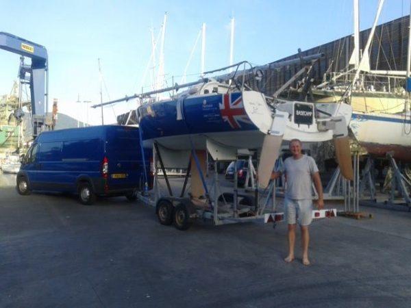 Paul Peggs Trasporto imbarcazioni