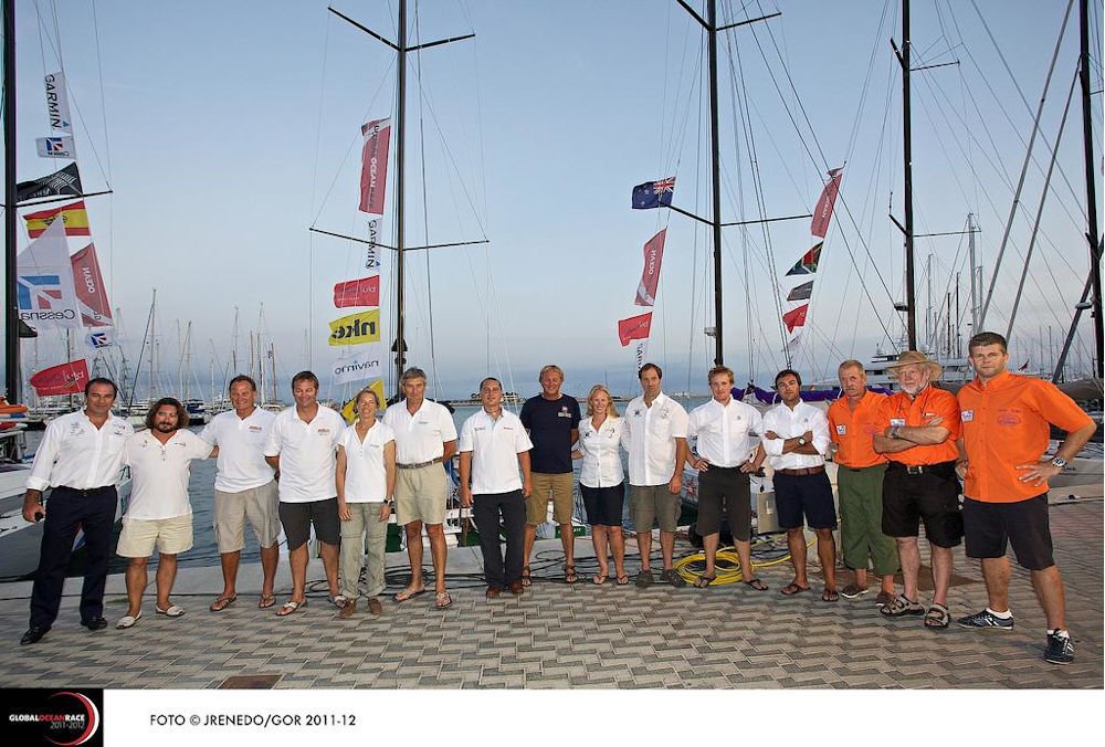 Giro del Mondo in Class40 - Global Ocean Race 2011-2012