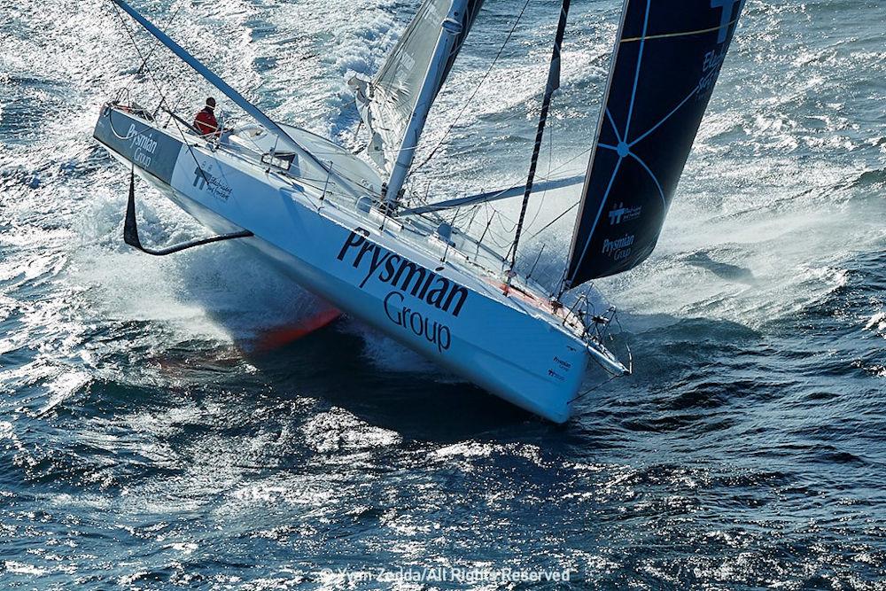 Barche a vela con foil - Giancarlo Pedote su Prysmian Group
