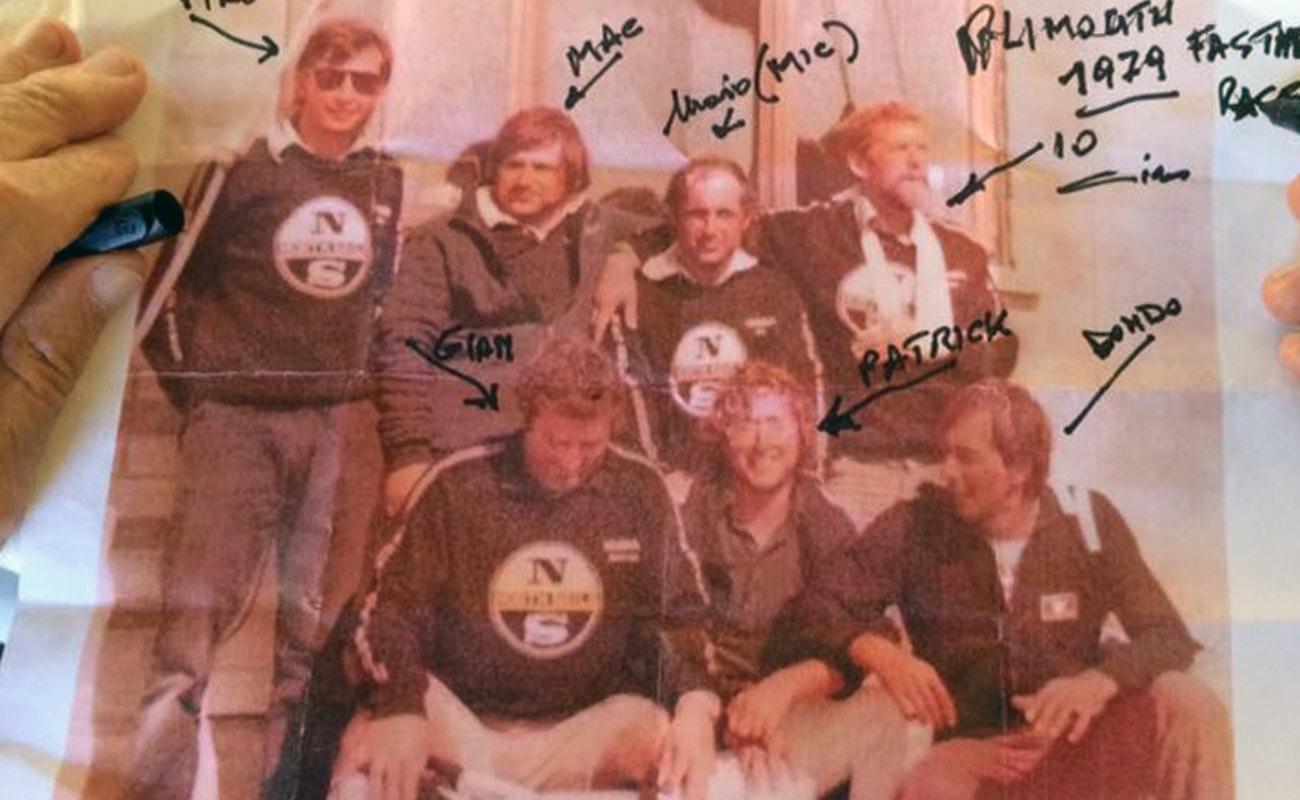 Velisti italiani - Cino Ricci in una foto del 1978