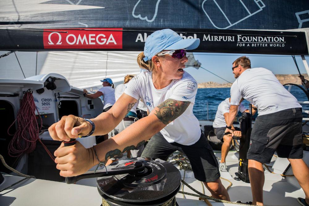 Velisti italiani - Francesca Clapich alla Volo Ocean Race
