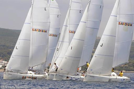 Velisti italiani - Franco Ricci e i G34' in Sardegna
