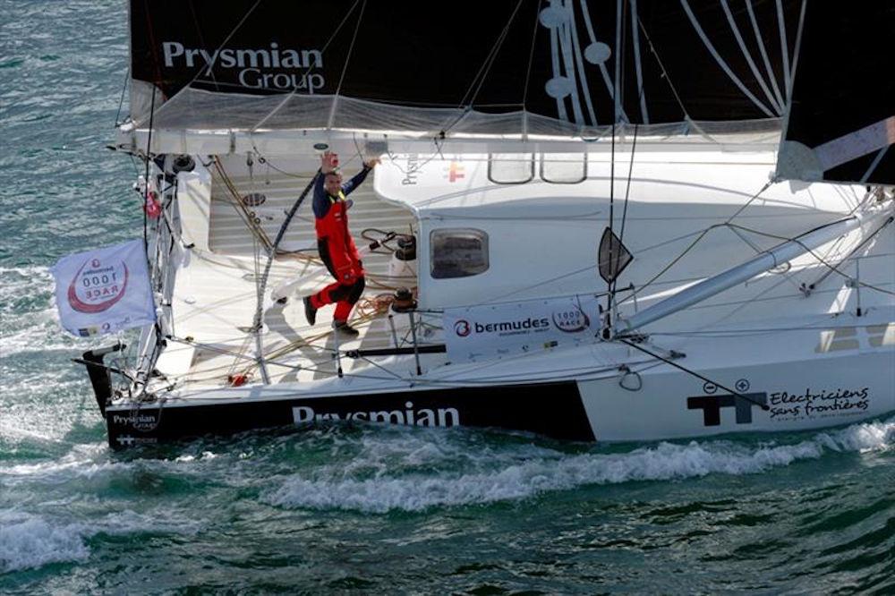 Velisti italiani - Giancarlo Pedote - Bermuda 1000 race