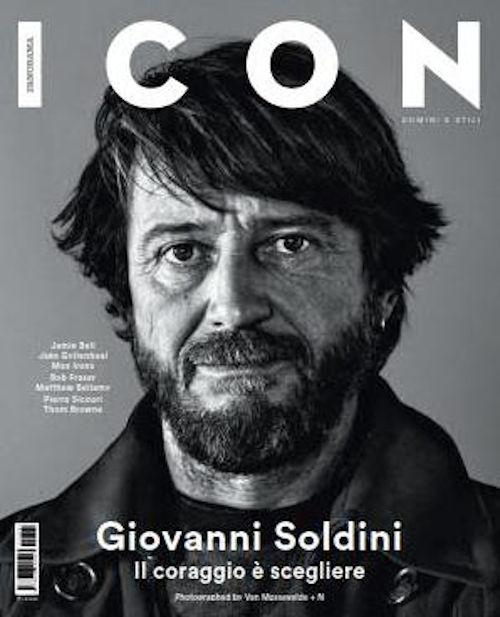 Velisti italiani - Giovanni Soldini - Copertina ICON Giugno 2015