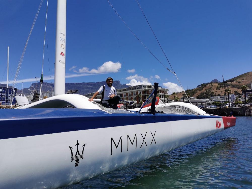 Velisti italiani - Giovanni Soldini - Maserati Multi 70 - Cape Town