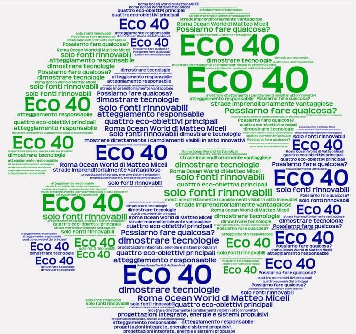 Velisti italiani - Matteo Miceli - Il progetto Eco40