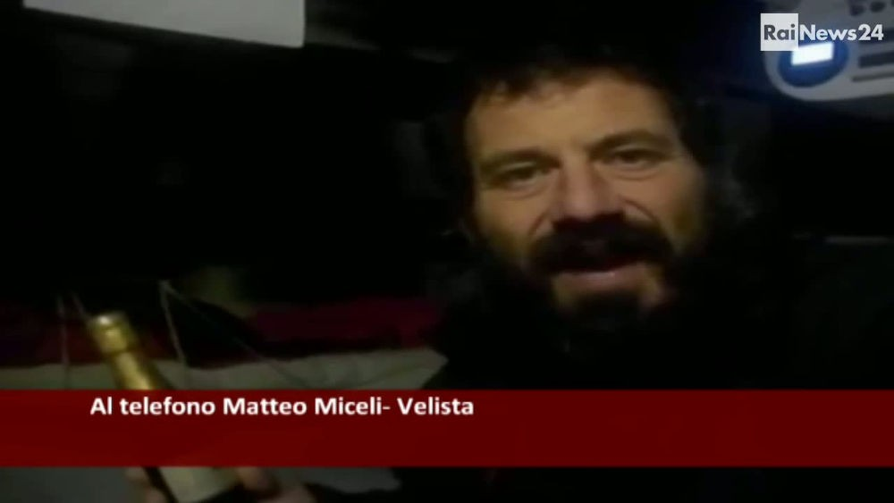 Velisti italiani - Matteo Miceli - Intervista con la rai durante il giro del mondo