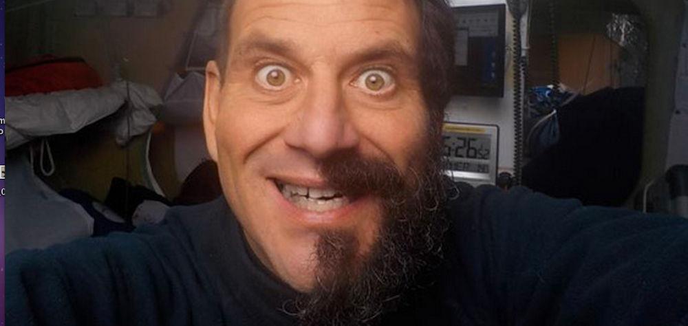 Velisti italiani - Matteo Miceli - La prima barba durante il giro del mondo