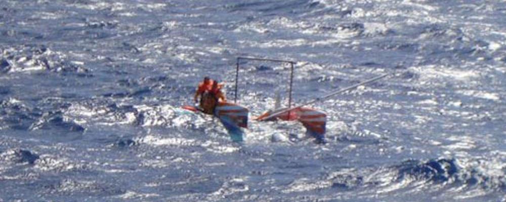 Velisti italiani - il naufragio
