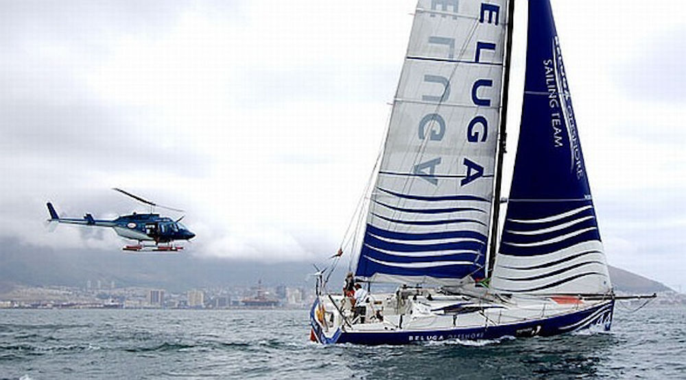 Giro del Mondo in Class40 - Boris Herrman e Felix Oehme - Portimao Global Ocean Race