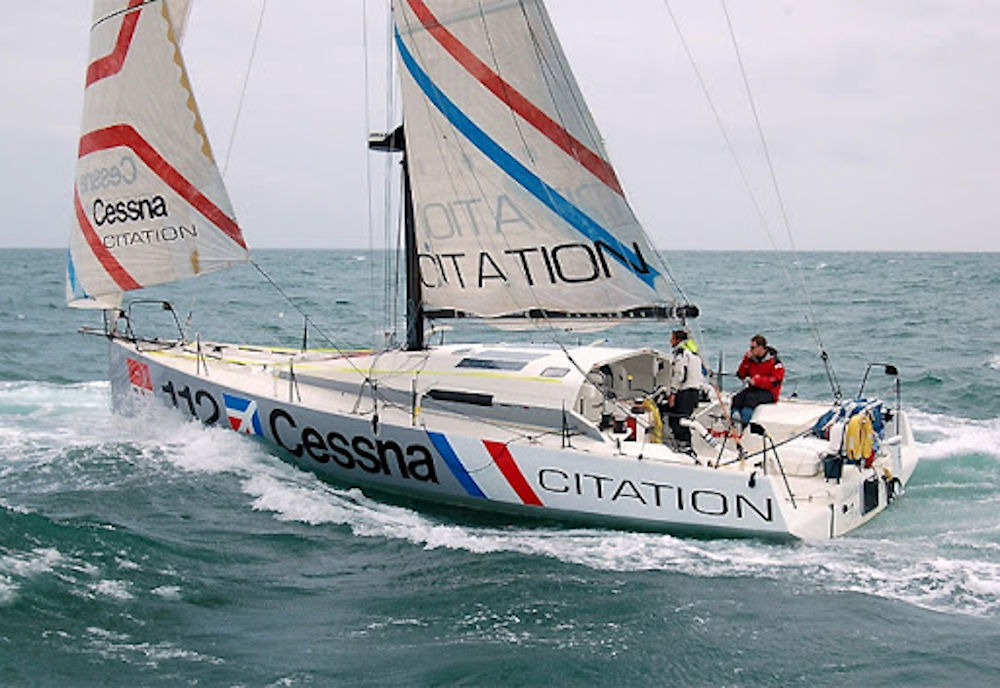 Giro del Mondo in Class40 - Cessna Citation vince la Global Ocean Race 2011-2012