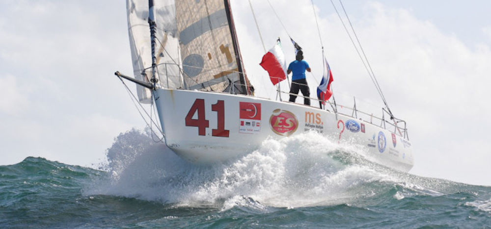 Giro del Mondo in Class40 - Financial Crisis seconda alla Global Ocean Race 2011-2012