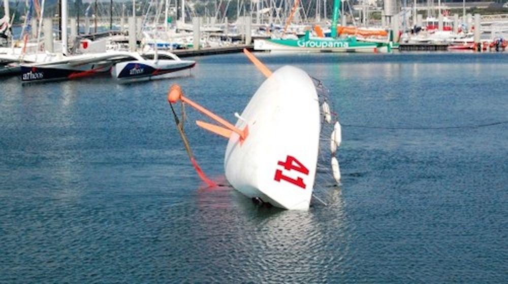 Giro del Mondo - Test di ribaltamento per l'ammissione alla Global Ocean Race