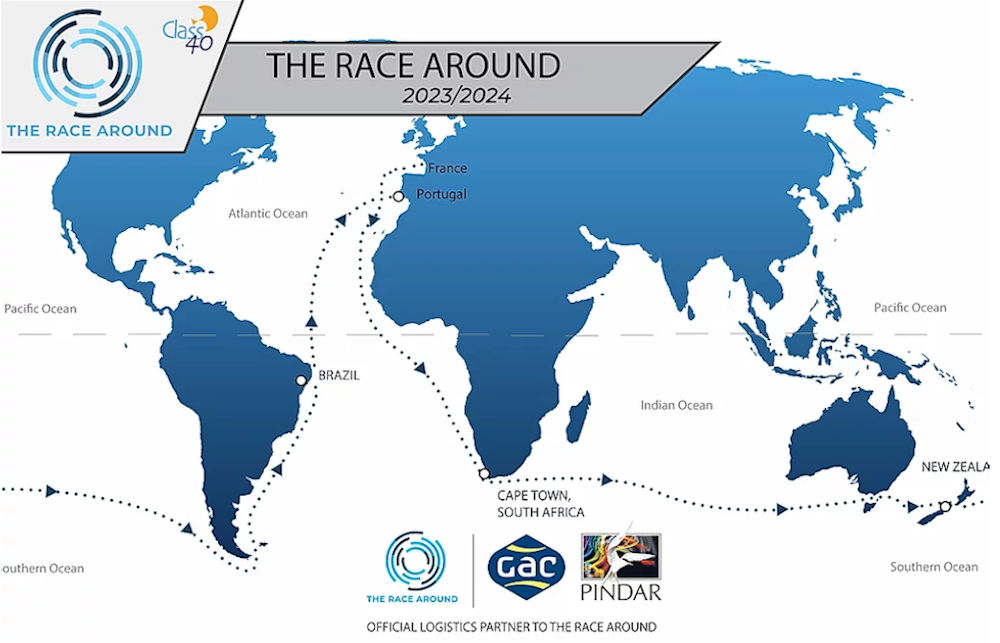 Giro del Mondo in Class40 - The Race Around