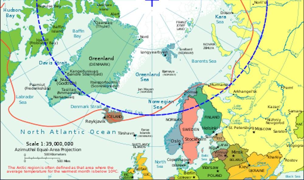 Vendée Arctique - Temperature
