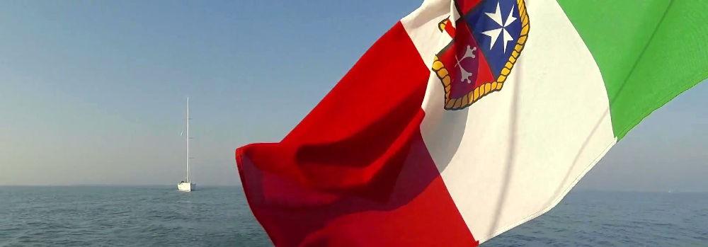 Normativa della nautica - Bandiera Italiana