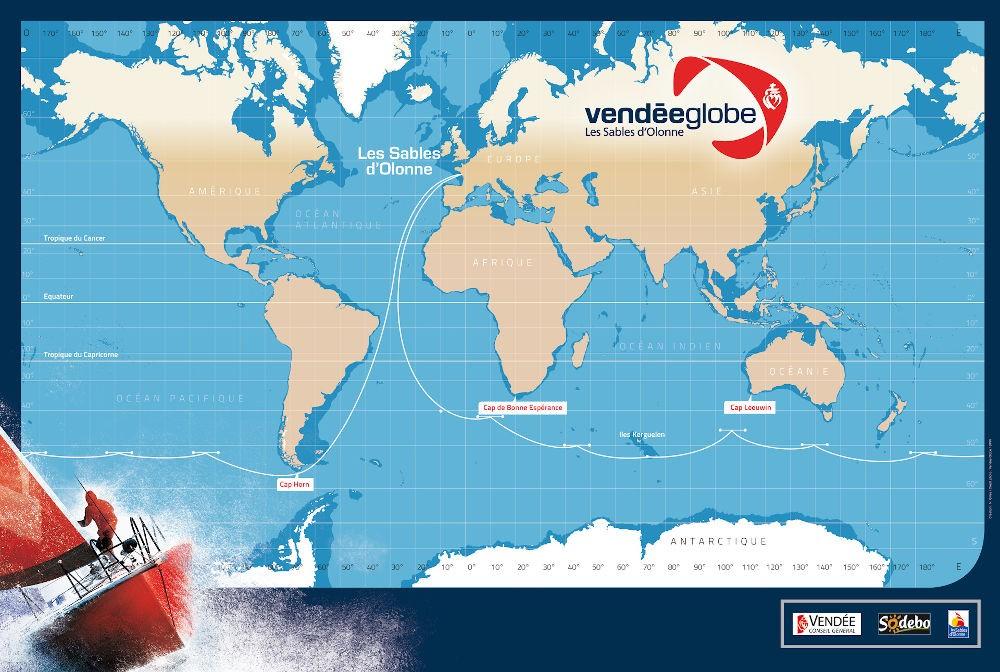 Percorso del Vendée Globe