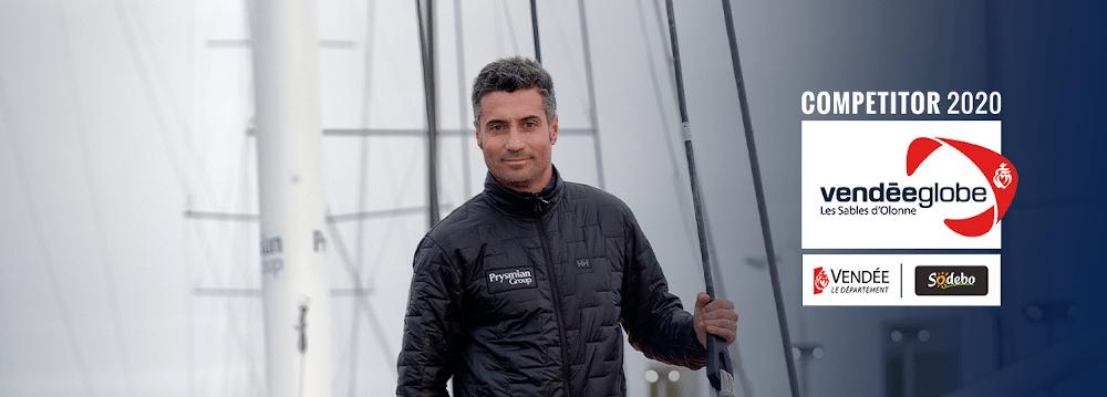 Giancarlo Pedote - Iscritto alla Vendée Globe 2020