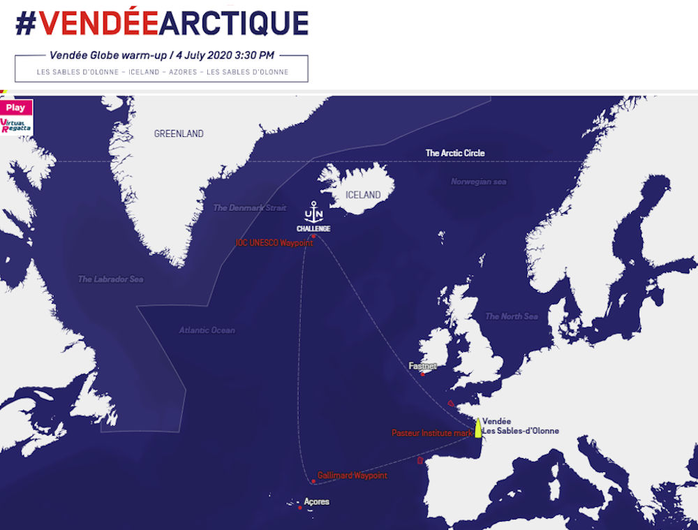 Vendée Arctique - Percorso